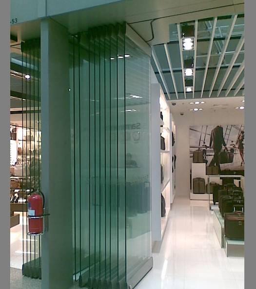 ALAFORM Glass Movable Partition Systems Alaform Frameless Glass Folding Doo