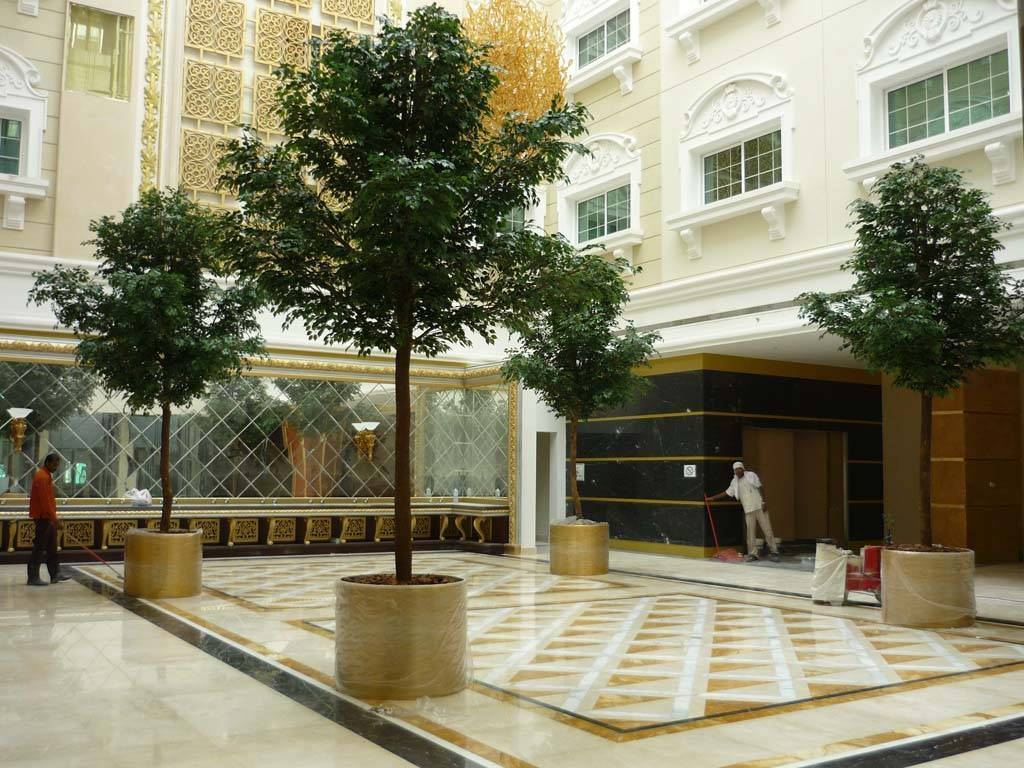 Artificial ficus benjamina manapat interior landscape for Manapat interior landscape designs
