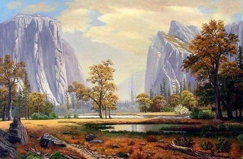 Oil painting landscape shenzhen yayuan oil painting co ltd for Artworks landscape ltd