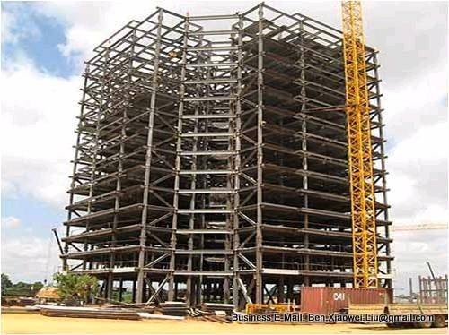 Steel structure for high rise steel residential buildings for Architecte structure