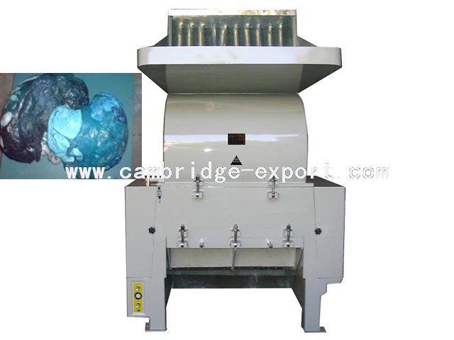 filter crushing machine