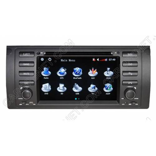 bmw x5 e53 gps navigation dvd radio player head unit with. Black Bedroom Furniture Sets. Home Design Ideas