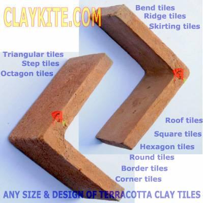 Handmade Terracotta Or Clay Tiles CLAYKITE COM Claykite