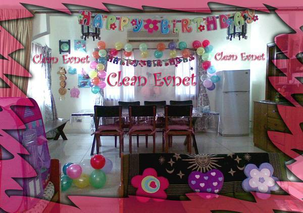 Home design image ideas home kid birthday party ideas for Balloon decoration for birthday at home