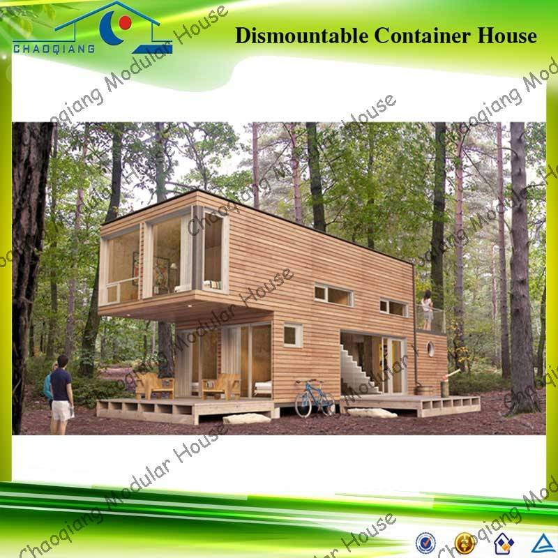 Demountable kiosk container house with new material floor plans ...