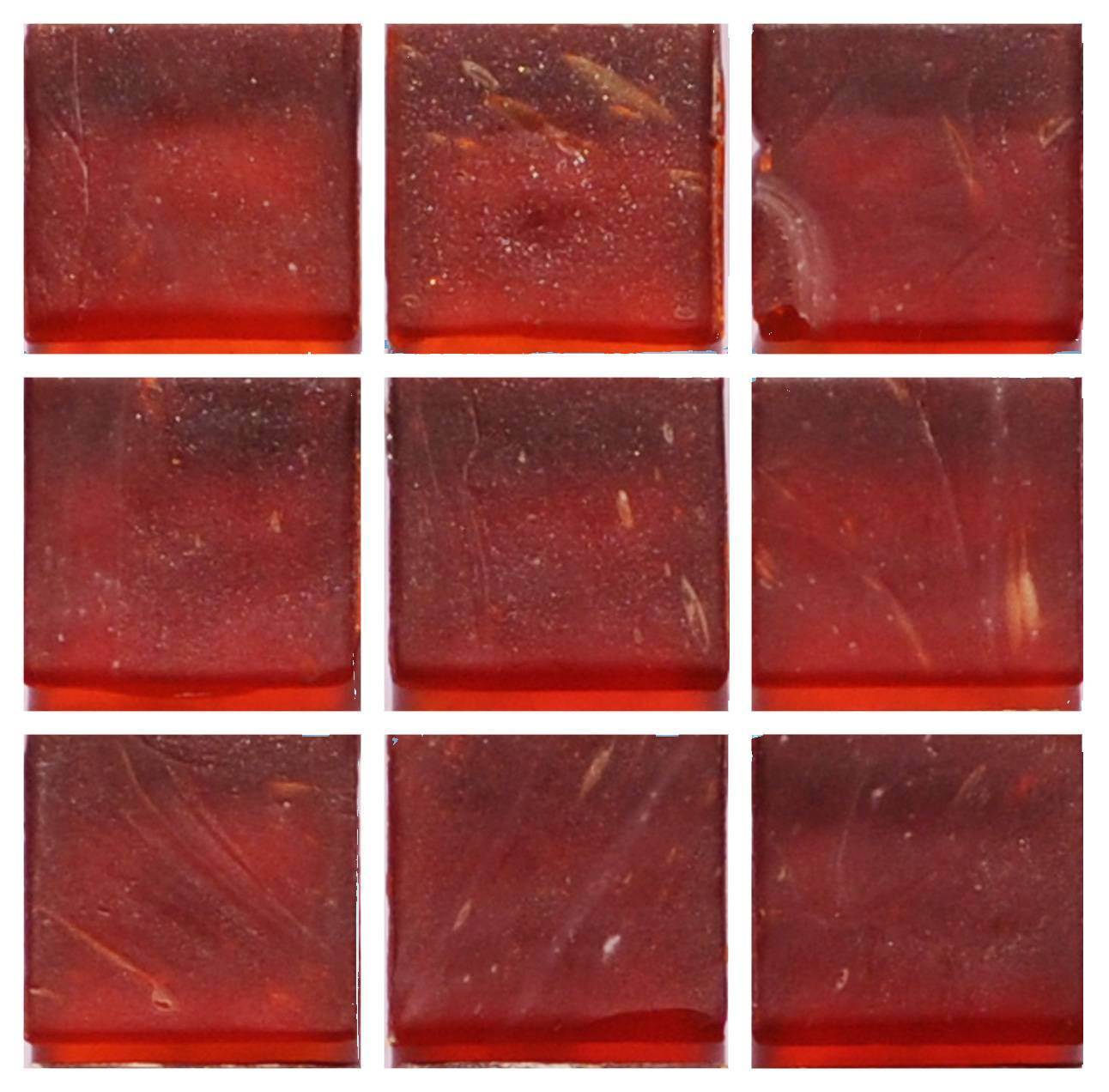 frosted red glass mosaic tile chengdu xionggang dantao