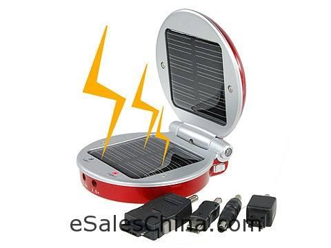 Модная солнечная батарея / зарядное устройство для мобилок и MP3/MP4...