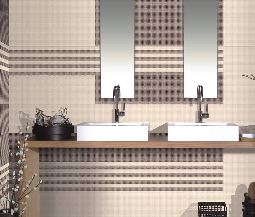 Bathroom Tiles Designs With Highlighters : Ceramic glaze highlighter light dark bathroom concept
