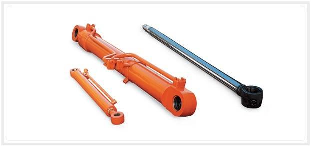 Hydraulic Boom Joint : Doosan excavator hydraulic arm boom bucket cylinders and