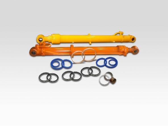 Hydraulic Boom Joint : Hitachi excavator hydraulic arm boom bucket cylinder and