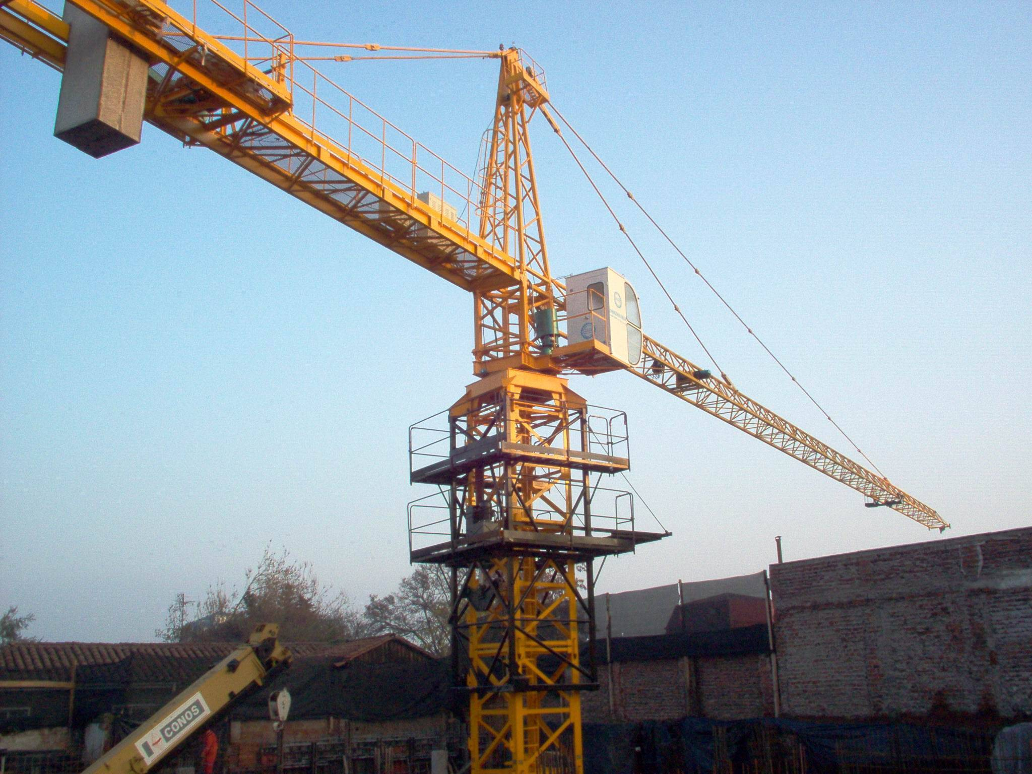 Tower Crane School : Qtz self erecting tower crane zhengzhou unique