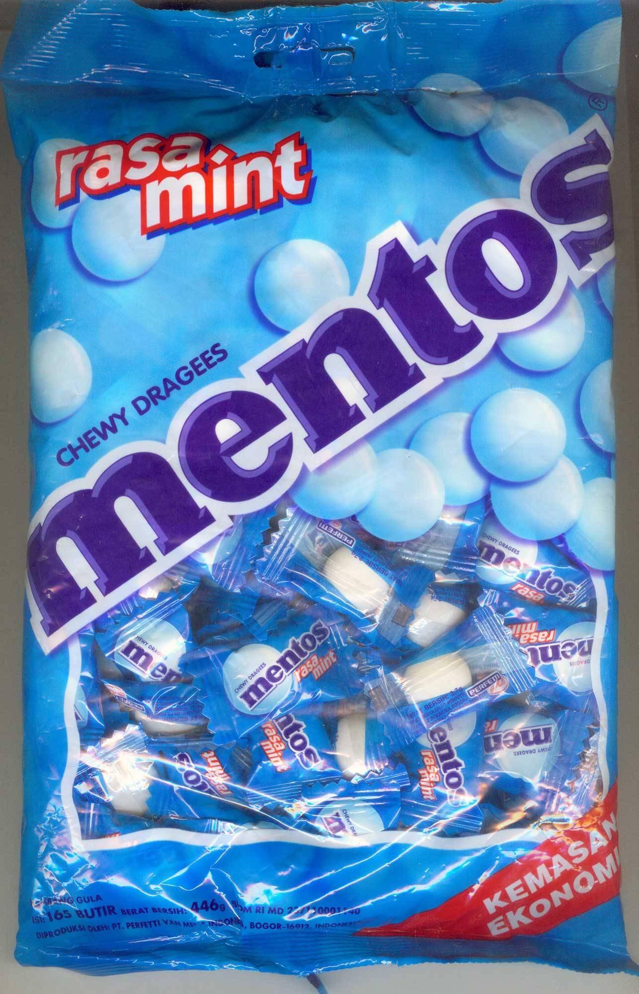 Mentos Mini Mints Mentos Mint Candy cv