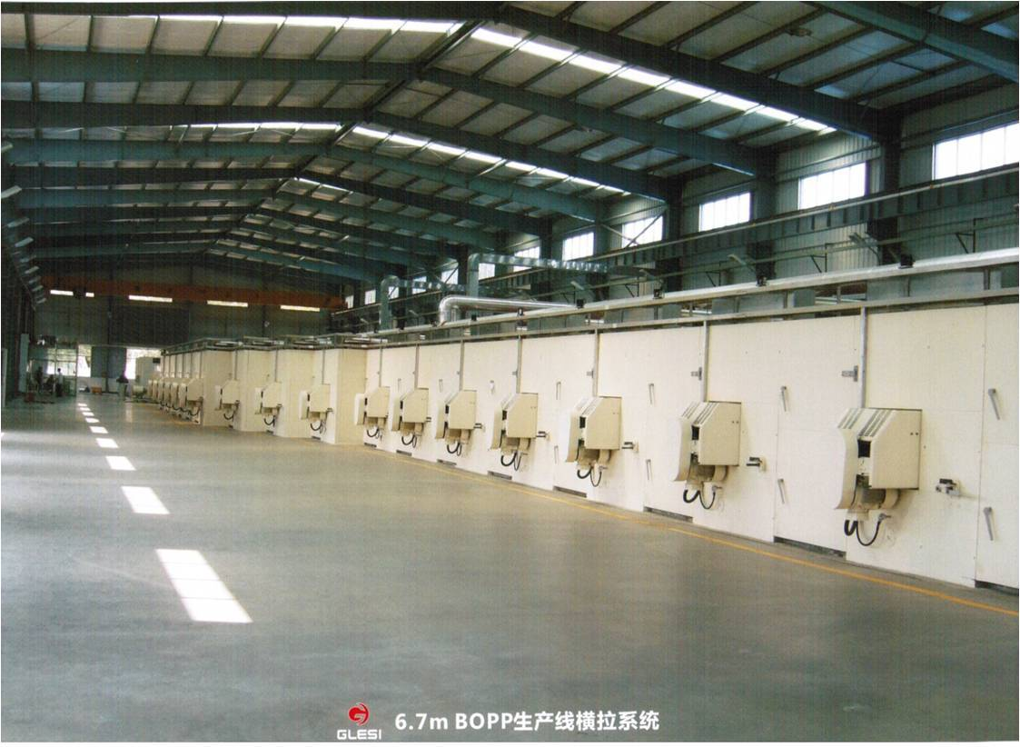 BOPP Film Production Line - Guilin Electrical Equipment ...