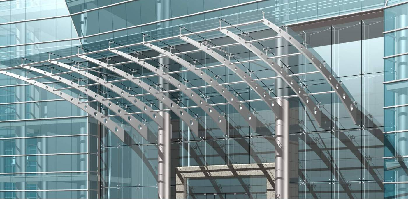 Steel Structure Canopy