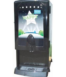 Кофейный автомат для приготовления горячих напитков.  Кофемашина.