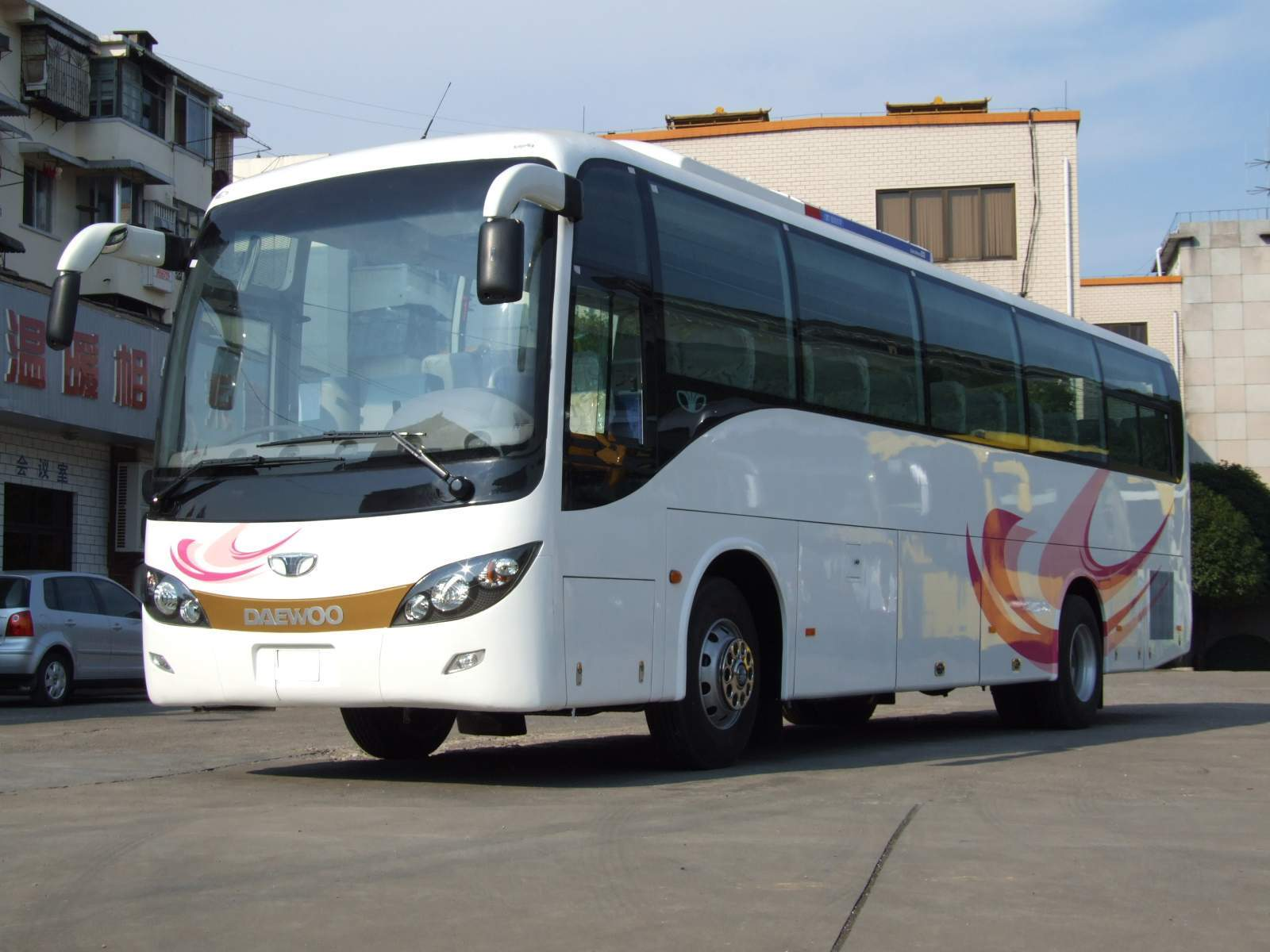 Bus, Daewoo Bus, Coach, We Produce Daewoo Bus - Guilin Daewoo Bus Co ...
