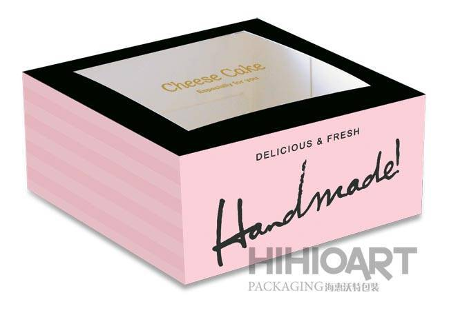 Cheese Cake Box-Paris - Hihio-Art Packaging Co., Ltd.