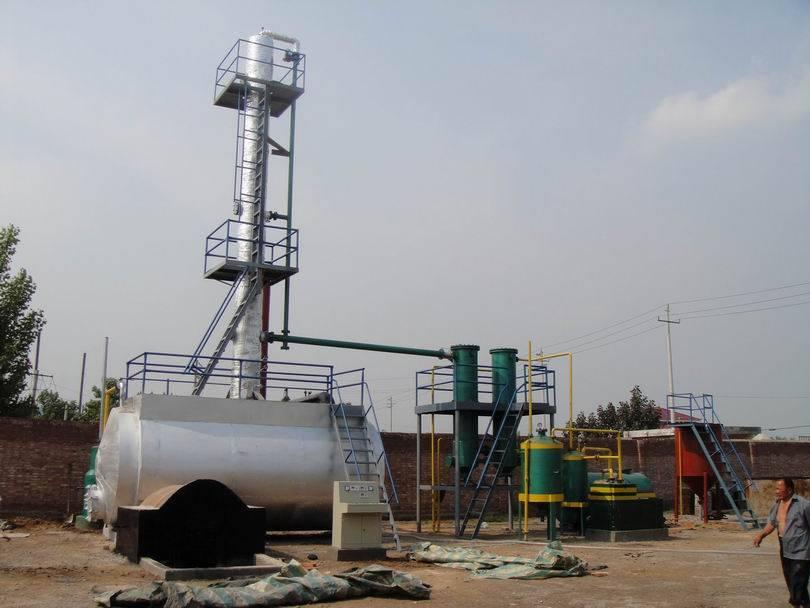 Mini Oil Plant : Waste oil mini refining plant hoi hing loong sdn bhd