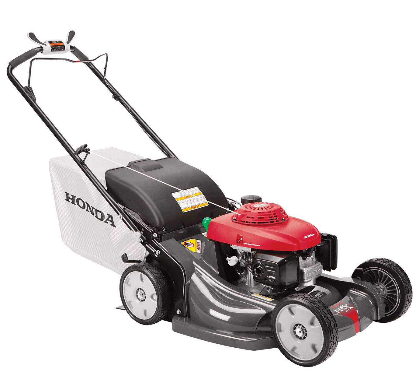 how to start a honda self propelled lawn mower