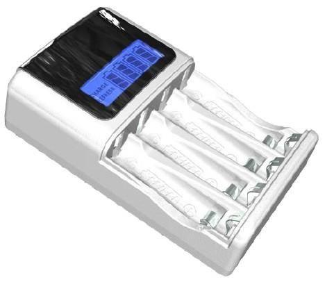 Зарядное устройство для аккумуляторов AA / AAA батарейки Ni-MH/Ni-Cd...