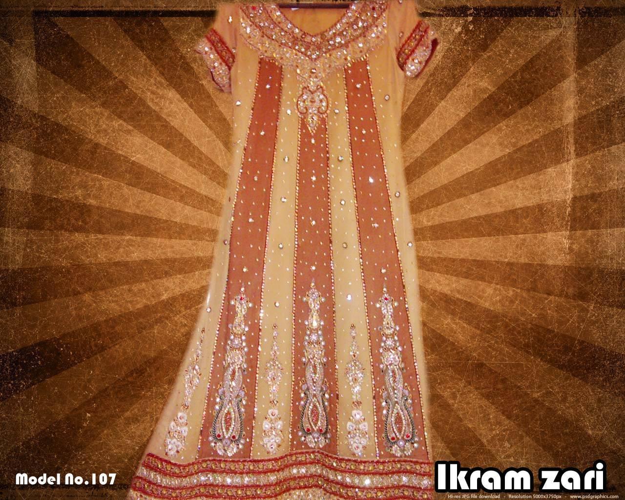 Ladies Fancy Boutique Style Dress Ikram Zari