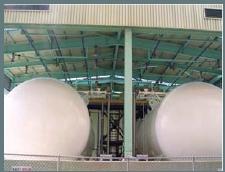 Ammonia Storage System