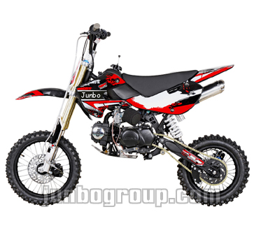 dirt bike klx pit bike 110cc 125cc with ktm style exhaust. Black Bedroom Furniture Sets. Home Design Ideas