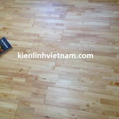 Natural rubber wood flooring t g uv finishing kien for Rubber hardwood flooring
