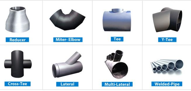 Reducer Miter Elbow Tee Lateral Welded Pipe