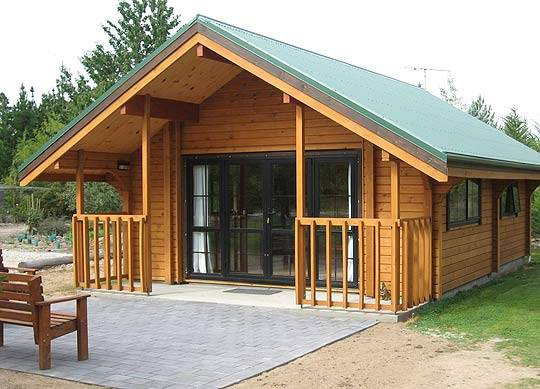 Wood Chalet Log Cabin Tianye Log Home