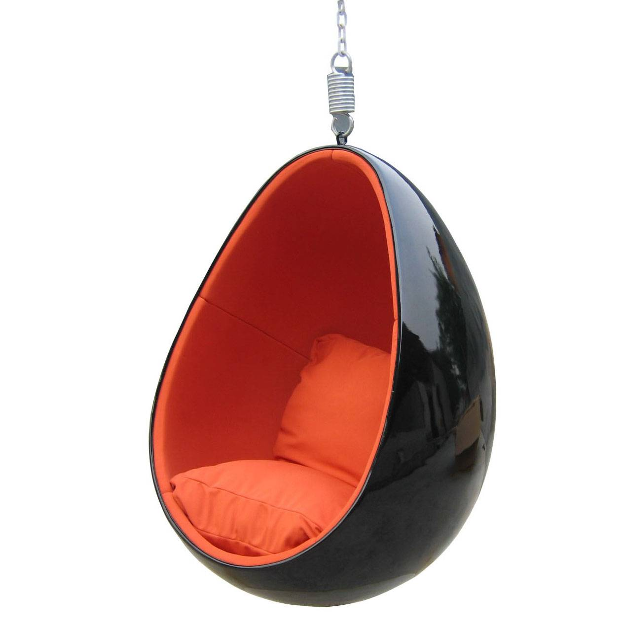 Clear Hanging Egg Chair