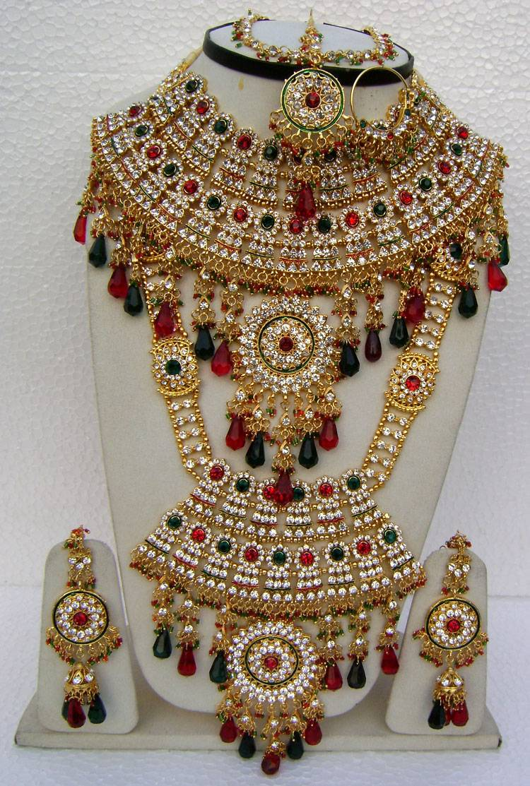 Beautiful Wedding Bridal Jewellery Set