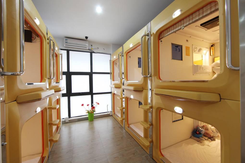 Pefect capsule mini bed room sleep box for hotel equipment for Box design hotel