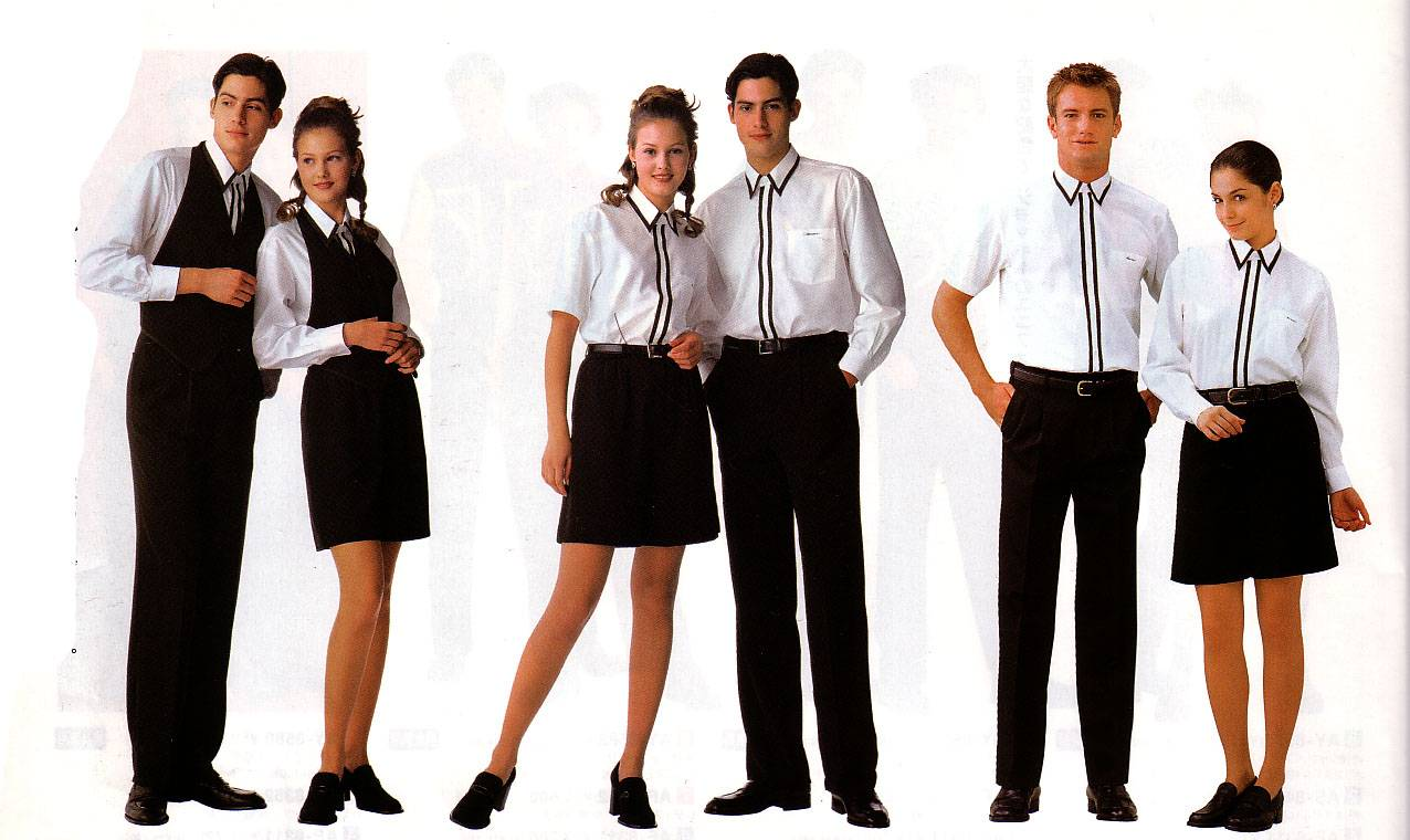 Restaurant Amp Bar Waiter And Waitress Uniforms Only