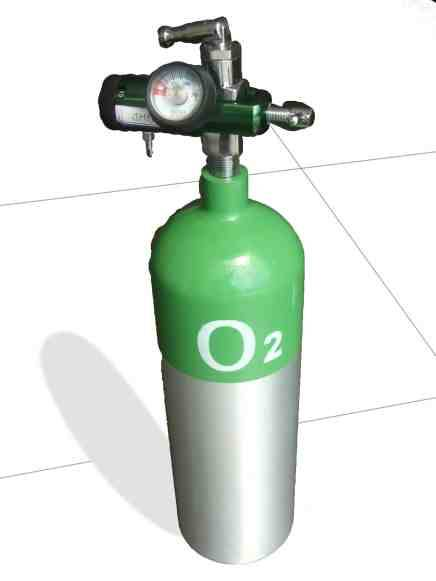 size Medical Oxygen Cy...