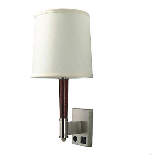 Hotel Wall Lamps with Outlets - Hotel Motel Lamps-Hotel Lighting Fixtures-Palace Lighting Co., Ltd.