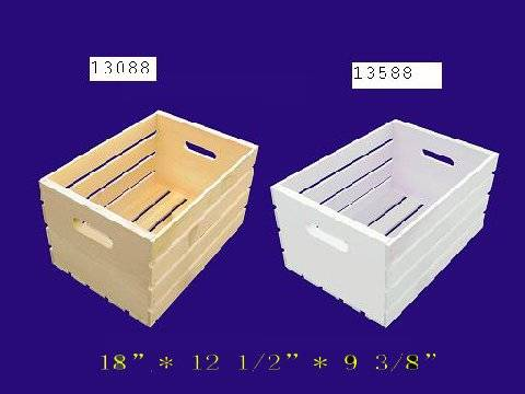 Wood box wooden box wood craft wood crate polyda for Craft crates