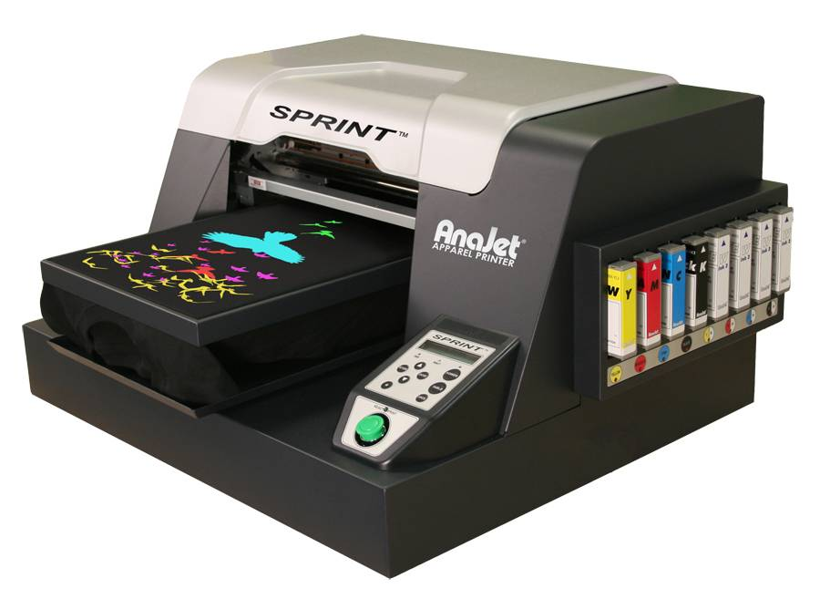 Anajet Sprint Sp 200 Dtg Digital Apparel Printing