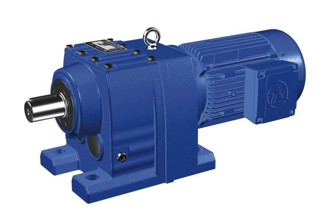 Inline helical gear motor beijing saili transmission co Gearbox motors