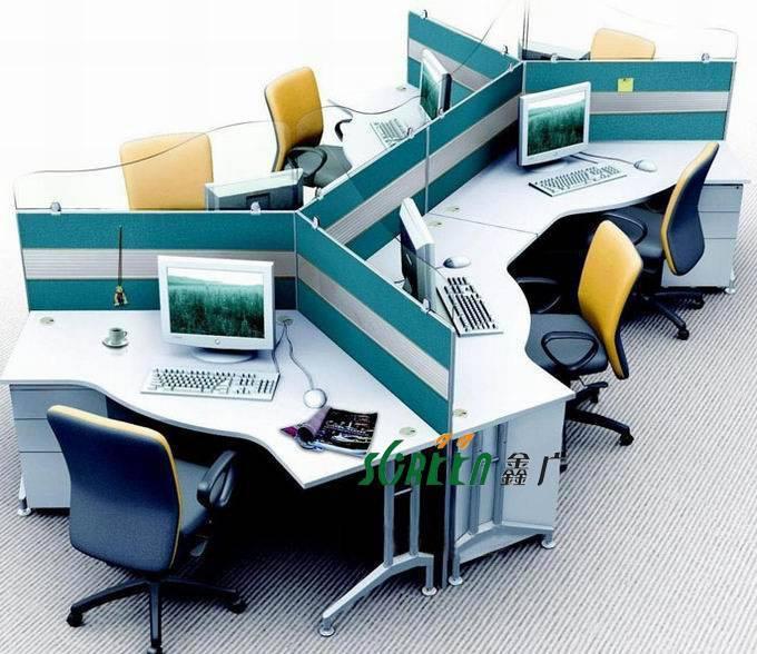 MDF Office Partition Modern Design