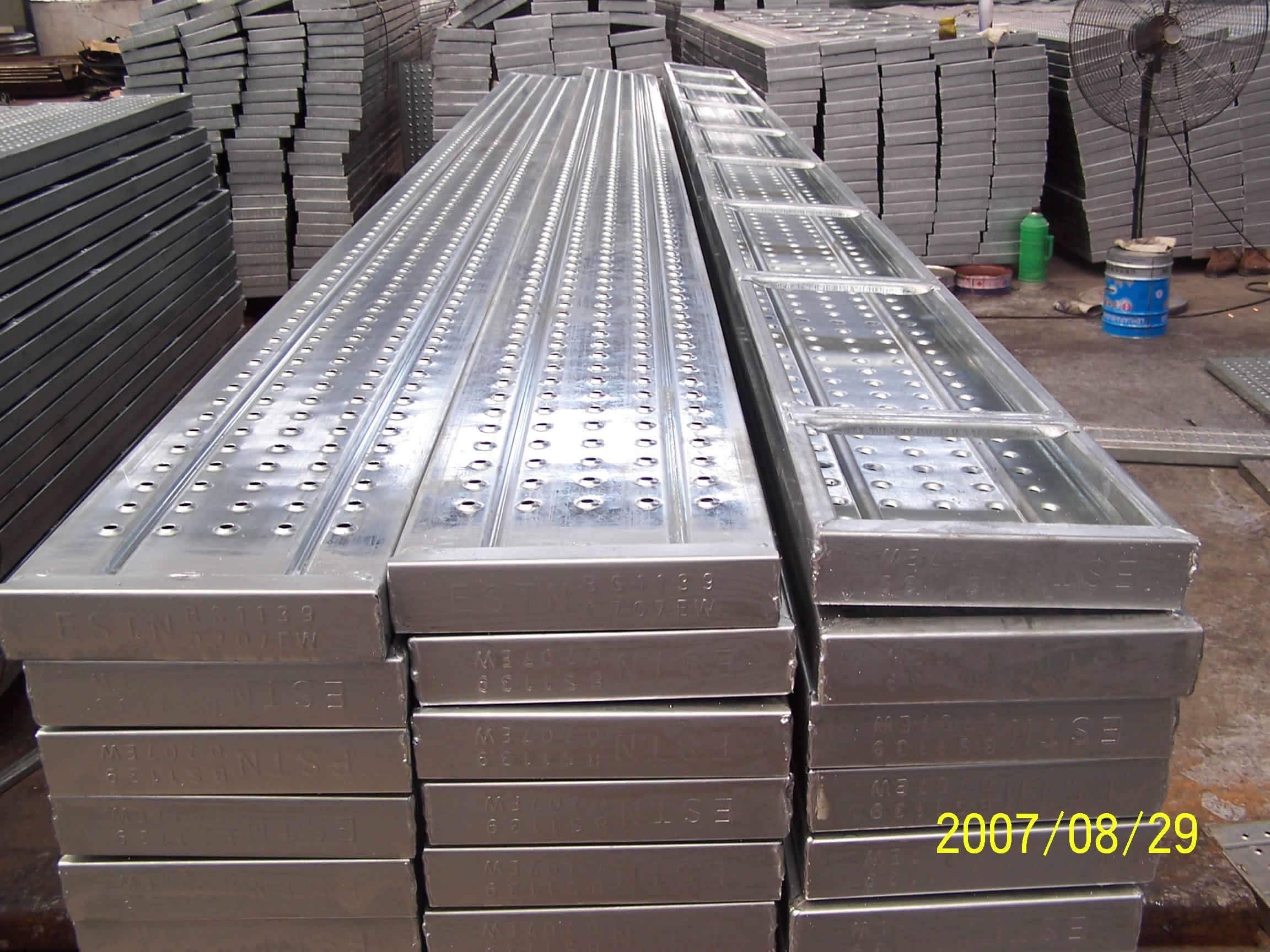 Steel Scaffold Planks : Scaffolding steel plank cenanze tianjin construction