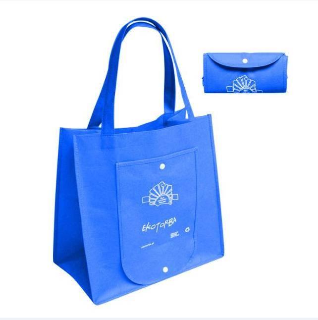 Синий Custom, складные многократно используемые ткани хозяйственная...