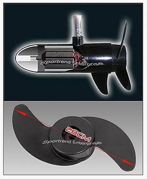 12v Dc Thrust Electric Trolling Motor Unit For Pedal Boat