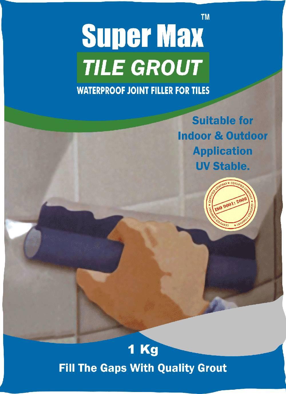 Tiles Joint Filler : Supermax tile grout conchem pvt ltd