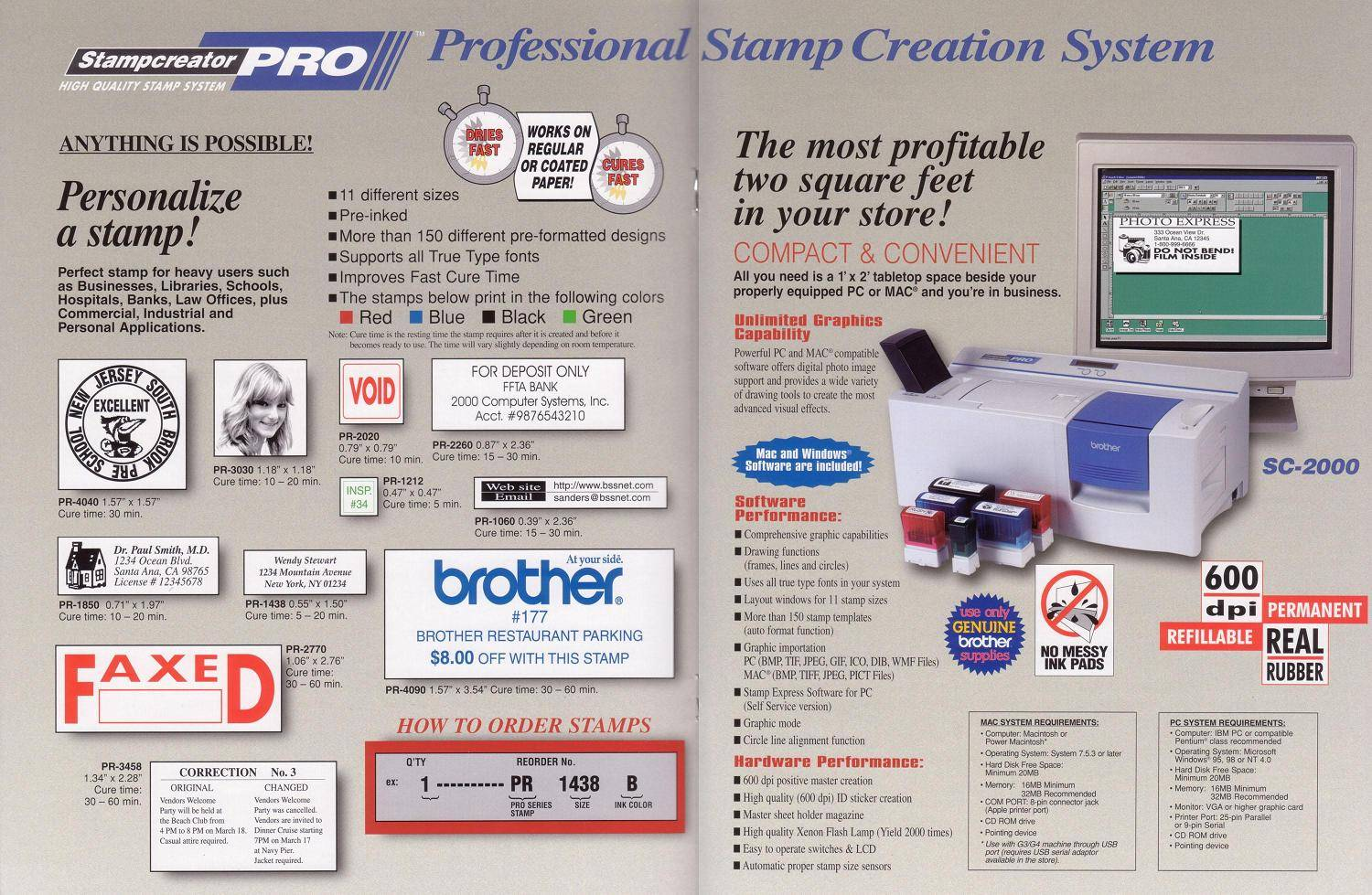 brother stamp