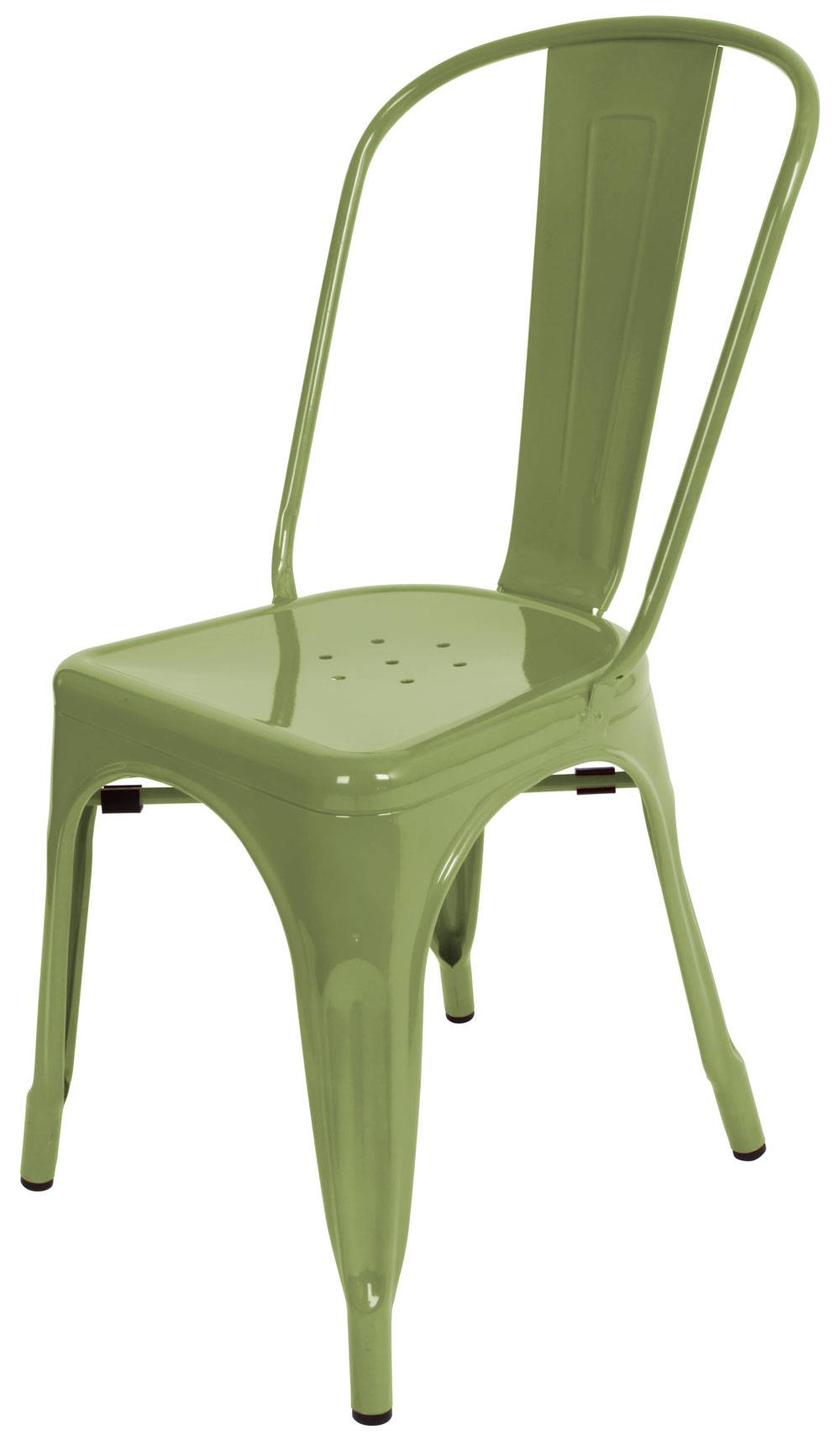 Green Metal Dining Chairs Metal Dining Chair In Green Ch