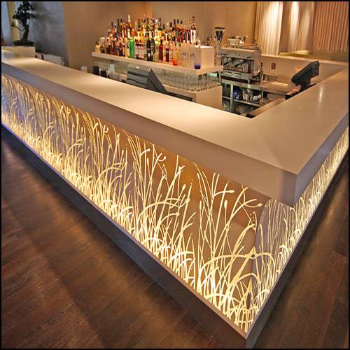 modern design bar counter - Tell World Solid Surface Co., Ltd