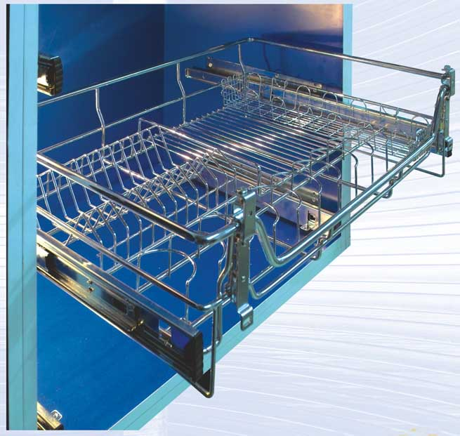 Kitchen Cabinets Basket Drawer: Drawing Basket