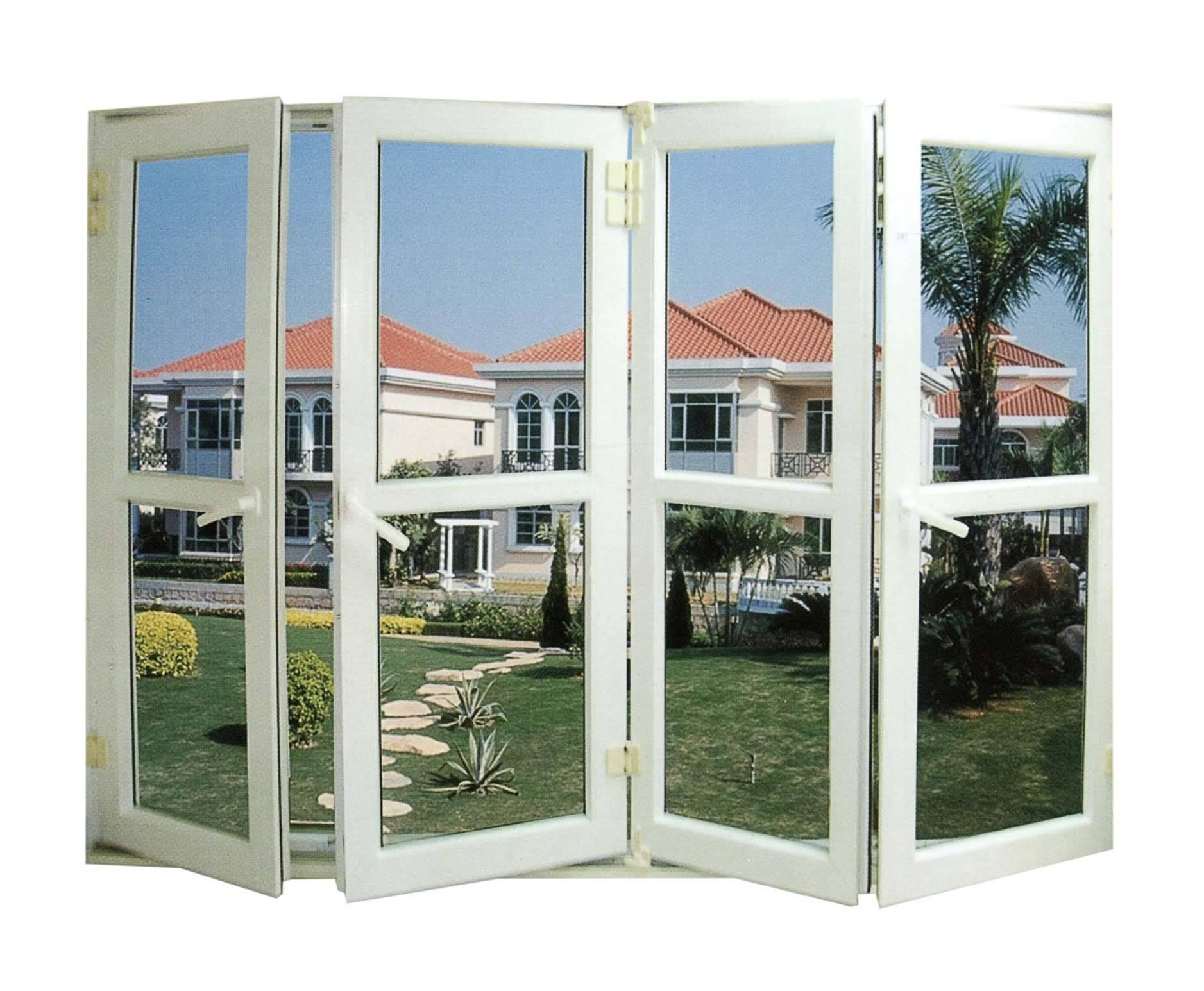 Modern window design pvc upvc sliding glass window for for Window door company