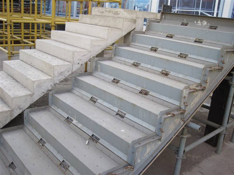 Design Of Concrete Wall Formwork : Concrete stair formwork system id product details